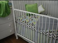121 best Crib bedding, no bumper pads images on Pinterest ...