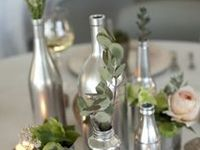 Just all the neat ideas of what to do with old wine bottles, so many ideas I cannot stand it.... will have to work on it soon