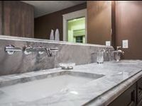 Harmony Builders His and her sinks / Love this aspect of the house and what to see more? Craving more? Click on any of the pictures to open the page with the picture of the rest of that beautiful Harmony house!!