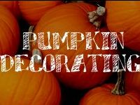 Whether real or fake, a pumpkin makes the perfect palette to create fantastic seasonal decor!