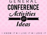 With three children under the age of six, I am always looking for new general conference ideas. These are some of my favorite conference printables, church activities, and food ideas!