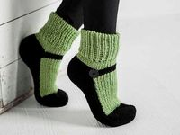 Woolie socks # Socks #  Slippers # Villasukat