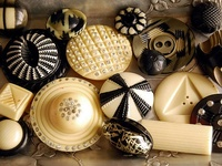 Vintage Buttons and Sewing Treasures