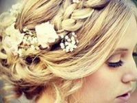 Bridal Hairstyle - Coiffure mariée - Chignon - Bohème chic.