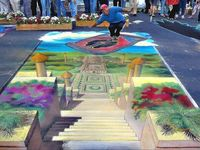 These are some AMAZING Street Art Pics! Some are 3D and Some are Murals all by Incredible Street Artist! **Pin Away**