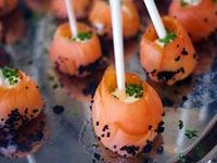 ... - Hapjes on Pinterest | Smoked salmon, Panna cotta and Foie gras