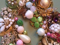wonderful things created from beads & buttons and all things bling