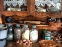 Vintage household items & childhood memories.