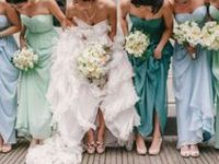 Color combinations to suit any bride!