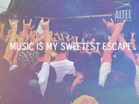 I think the title speaks for itself. Music is everything to me.