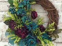 Grapevine wreaths