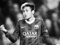 Neymar is a talented and hot soccer player and I love this <3