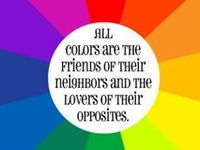 Impression  & Meanings of Colors.