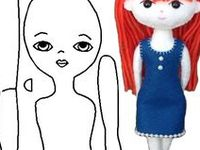 A Handmade Rag Doll Patterns & Tutorial