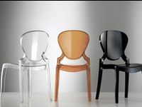 Restaurant chairs / We are importers of fine Italian furniture. Staining and upholstering can be done in any colour and fabric of your choice