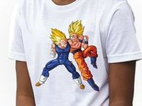 Dragon Ball Kids Girls T-shirts