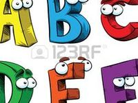 Letter and number characters