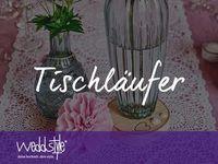 ... HOCHZEITSDEKO on Pinterest  Lace, Vintage and Table runners
