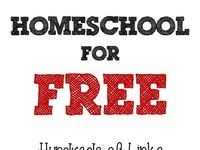 "Info about beginning, organizing and the types of homeschooling. Also, general FREE educational sites/resources that did not ""fit into"" the description of one of the other boards."