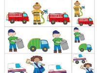 Fire Safety & Community Workers - PreK