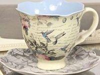 Beautiful tea cups.