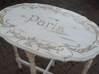 painted furniture and furniture make-overs.