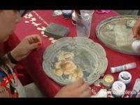 Aprender bellas técnicas de pintura decorativa y manualidades