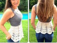 adult crochet/ knit clothing