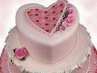 heart cakes