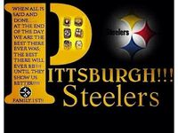 """""""BEST FOOTBALL TEAM IN THE NFL...,.STEELERS, BABY !!!! Count'em  """"6"""""""