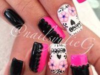 #<3Nails and make up, unhas, maquiagem, cabelo, hair, uñas, Polish