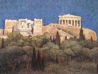 Art - Greek Artists - Έλληνες Ζωγράφοι