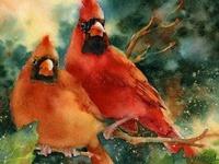 Paintings - Birds & Animals