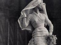 Wedding dresses of all eras.