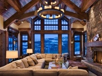 Living Room inspiration for those who like it warm and cozy
