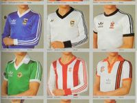 old soccer jersey