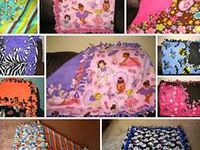 Blankets and other cute No sew items / Quilts