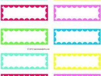 Printables, labels, tags and so on...