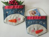 Crafts, pictures, and ideas all snowman related.
