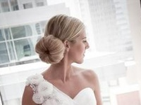 Beautiful inspiration for your wedding updo