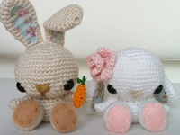 Lots of lovely unique items made with crafty hands.