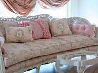 "Shabby Chic Style made popular by Rachel Ashwell and her shops and many ""Shabby Chic"" books. My favorite decor style"