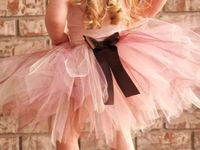 Creating things from tulle
