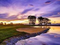 Le golf c'est beau...