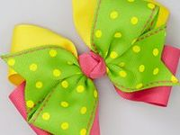 Bows ~ Hair Clips ~ Ribbons... ✿