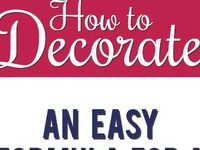 Ideas and crafts to decorate the home
