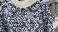 Norwegian vintage knitting