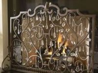 Fireplace Screens Covers On Pinterest Fireplace Screens Fireplaces And Stained Glass