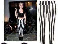 Miley Cyrus recently shed her Disney princess image and adopted an edgier look. While she occasionally wears floor-grazing gowns at red carpet events, her street style is more popular.