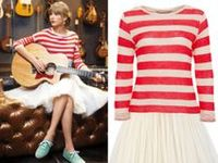 Taylor Swift is the ultimate girly-girl and her style, rooted in country music tradition, certainly reflects that.    The singer-songwriter's signature look involves perfectly straight bangs, smoldering red lipstick and feminine dresses by designers like Kate Spade, Monique Lhuillier and Rebecca Taylor.
